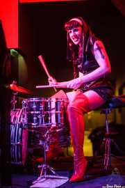 Erica Toraldo, cantante y baterista de The Devils (Shake!, Bilbao, 2016)