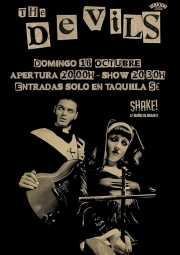 Cartel de The Devils (Shake!, Bilbao, )