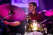 Asier Elias, baterista de Mocker's (Kafe Antzokia, Bilbao, 2016)