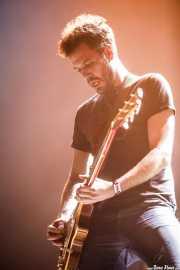 Esteban Girón, guitarrista de Toundra (BIME festival, Barakaldo, 2016)
