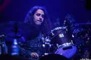 Manu Molina, baterista de Nacho Vegas (BIME festival, Barakaldo, 2016)