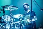 Lander Zalakain, baterista de Belako (BIME festival, Barakaldo, 2016)