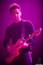 Ben Little, guitarrista y teclista de Wild Beasts (BIME festival, Barakaldo, 2016)