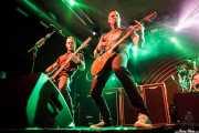 Brian Marshall -bajo- y Mark Tremonti -guitarra- de Alter Bridge (Santana 27, Bilbao, 2016)