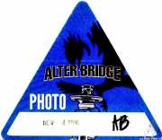 PhotoPass de Alter Bridge (Santana 27, Bilbao, )