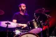 Iñaki Urizabal, baterista de The Northagirres (Kafe Antzokia, Bilbao, 2016)