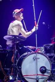 Tad Hutchison, baterista de Young Fresh Fellows (Kafe Antzokia, Bilbao, 2016)