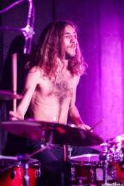 Iker Nuñez, baterista de Purple Vellocet (La Ribera, Bilbao, 2016)