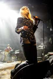 Alison Mosshart, cantante y guitarrista de The Kills (Kafe Antzokia, Bilbao, 2016)