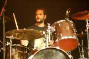 Jon Ibarra, baterista de Fetitxe (Bilborock, Bilbao, 2016)