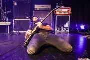 Ibai Aranguren, guitarrista de Fetitxe (Bilborock, Bilbao, 2016)