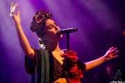 """Cristina Manjón """"Nita"""", cantante de Fuel Fandango (Kafe Antzokia, Bilbao, 2016)"""
