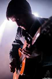 Frederic Schang, cantante y guitarrista de I Me Mine (Bilborock, Bilbao, 2016)