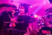 Joss Mayoral, baterista de The Kleejoss Band (Santana 27, Bilbao, 2016)
