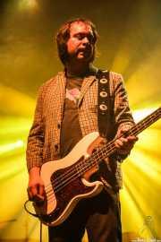 Juancho López, bajista de Kurt Baker Combo (Santana 27, Bilbao, 2016)