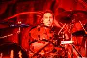 "Xabi ""Bombardero"" Aira, baterista de Rat-Zinger (Santana 27, Bilbao, 2016)"