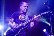 "Javi ""Puñales"", guitarrista de Rat-Zinger (Santana 27, Bilbao, 2016)"