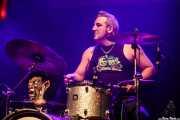 Rober Gurt del Rio, baterista de Screamers & Sinners (Kafe Antzokia, Bilbao, 2016)