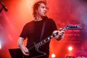 David Roads,guitarrista de Airbourne (Santana 27, Bilbao, 2016)