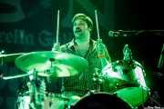 Paulie Cobra,baterista de The Hanging Stars (Purple Weekend Festival, León, 2016)