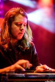 Joe Harvey White, pedal steel guitar de The Hanging Stars (Purple Weekend Festival, León, 2016)