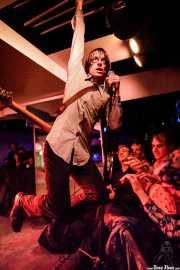 Pat Beers, cantante y guitarrista de The Schizophonics (Purple Weekend Festival, León, 2016)