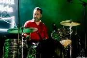 Nuno Gomez, baterista de Gizzelle & TT Syndicate (Purple Weekend Festival, León, 2016)
