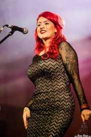 Gizzelle,cantante de Gizzelle & TT Syndicate (Purple Weekend Festival, León, 2016)