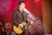 James Hunter, cantante y guitarrista de The James Hunter Six (Purple Weekend Festival, León, 2016)