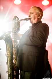 Lee Badau, saxofonista de The James Hunter Six (Purple Weekend Festival, León, 2016)