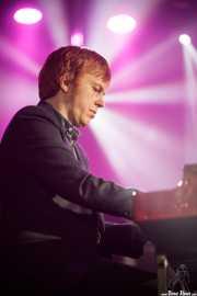 Teclista de The James Hunter Six (Purple Weekend Festival, León, 2016)