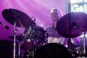 Jonathan Lee, baterista de The James Hunter Six (Purple Weekend Festival, León, 2016)