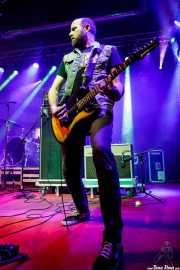 Milton Chapman, guitarrista de The Barreracudas (Purple Weekend Festival, León, 2016)