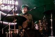 """Pablo González """"Pibli"""", baterista y cantante de Peralta (Purple Weekend Festival, León, 2016)"""