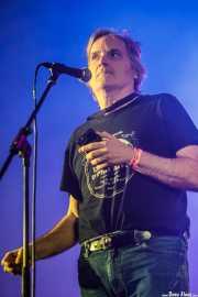 Sid Griffin, cantante invitado de Peralta (Purple Weekend Festival, León, 2016)