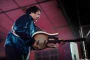 "Jeff Walls ""The Flesh Hammer"", guitarrista de The Woggles (Purple Weekend Festival, León, 2016)"