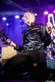 "Manfred Jones ""The Professor Mighty Manfred"", cantante de The Woggles (Purple Weekend Festival, León, 2016)"