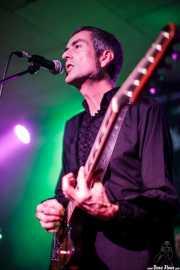 Ernesto García, guitarrista de The Allnighters (Santana 27, Bilbao, 2016)