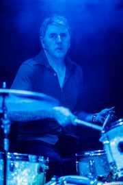 Zigor Akixo, baterista de The Allnighters (Santana 27, Bilbao, 2016)