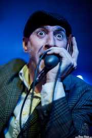 """Iñaki García """"Igu"""", cantante y armoniscista de The Allnighters (Santana 27, Bilbao, 2016)"""