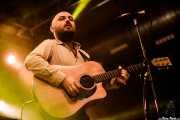 Josu Aguinaga, guitarrista en el Homenaje a The Concert for Bangladesh. George Harrison (Santana 27, Bilbao, 2016)