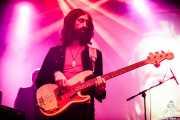 Jokin Salaberria, bajista y cantante en el Homenaje a The Concert for Bangladesh. George Harrison (Santana 27, Bilbao, 2016)