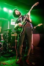 Luke Smyth, cantante y guitarrista de Ulysses (Kafe Antzokia, Bilbao, 2017)