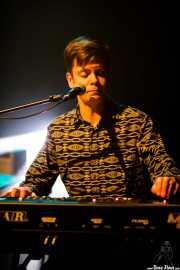 Rasmus Fors, teclista de Jetbone (Kafe Antzokia, Bilbao, 2017)
