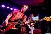 Ken Fox -bajo y voz- y Keith Streng -guitarra y voz- de The Fleshtones (Kafe Antzokia, Bilbao, 2017)