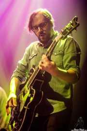 Kike Fuentes, guitarrista de Depedro (Kafe Antzokia, Bilbao, 2017)