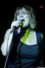 Inge Isasi, cantante de MoonShakers (La Ribera, Bilbao, 2017)