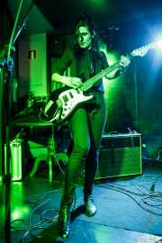 Nagore Martínez Jauregi, guitarrista de MoonShakers (La Ribera, Bilbao, 2017)