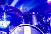 Mark Richardson, baterista de Skunk Anansie (Zentral, Iruña / Pamplona, 2017)