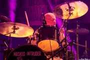 Intruder Red, baterista de Masked Intruder (Santana 27, Bilbao, 2017)